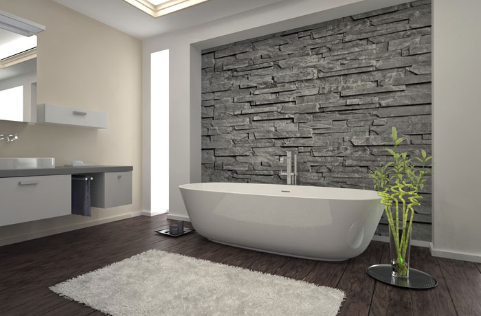 When It Comes Time To Tile An Accent Wall, Creative Ideas Seem Limitless.  You Can Use A Variety Of Materials, Including Glass, Ceramic, Natural Stone,  ...